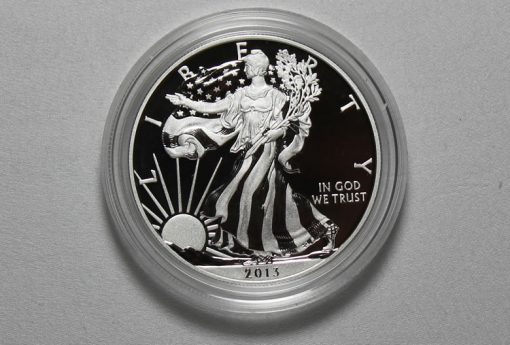 2013-W Enhanced Uncirculated American Silver Eagle