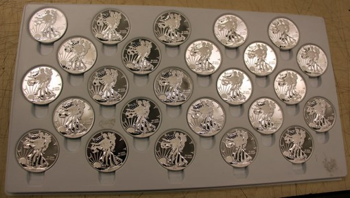 2013-W Enhanced Uncirculated American Silver Eagles