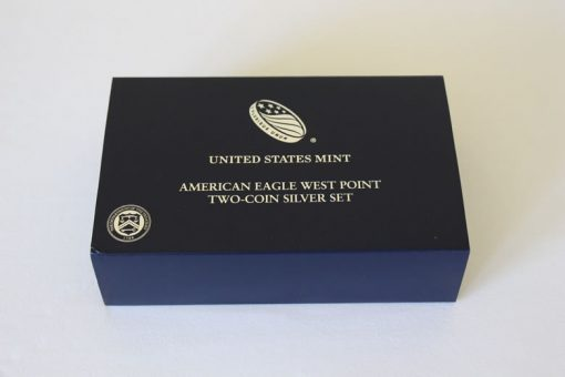 2013 West Point Silver Eagle Set in Packaging