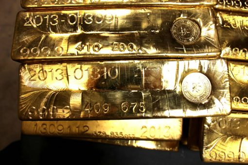 Gold Bars, West Point Mint