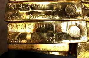 Gold Bars at West Point Mint