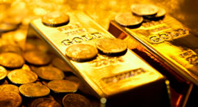 Gold Settles to Nearly Two-Week High