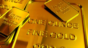 One Ounce Fine Gold Bars