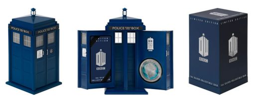 Presentation Case and Shipper for 2013 Doctor Who 50th Anniversary Coin
