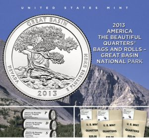 US Mint Promotion image for 2013 Great Basin Quarter Products