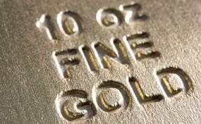 10 Oz Fine Gold Bar