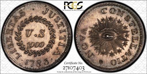 1000 Units Nova Constellatio Coin
