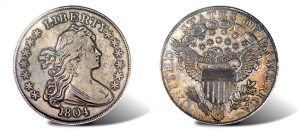 1804 Silver Dollar Anchors Heritage Platinum Night Auction in August