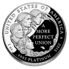 2009-W Proof American Platinum Eagle Coin
