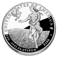 2011-W Proof American Platinum Eagle Coin