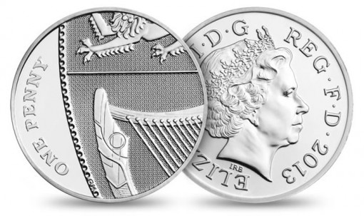 Royal Mint image of its 2013 Lucky Silver Penny