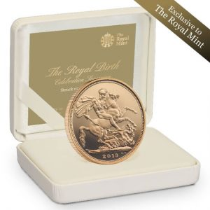 2013 Royal Birth Gold Sovereign