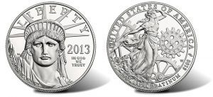 2013-W Proof American Platinum Eagle Coin