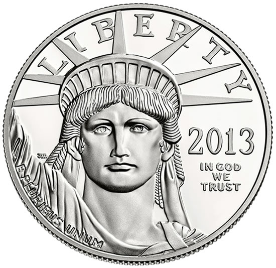 2013 W Proof American Platinum Eagle Coin Available Coin