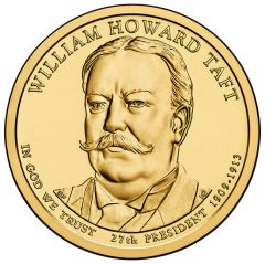 2013 William Howard Taft Presidential $1 Coin