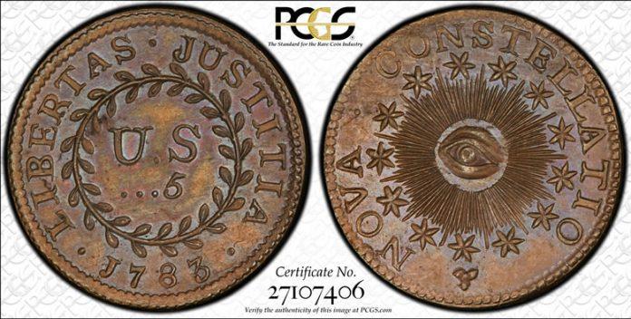 5 Units Nova Constellatio Coin