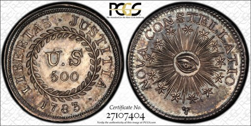 500 Units Type 1 Nova Constellatio Coin