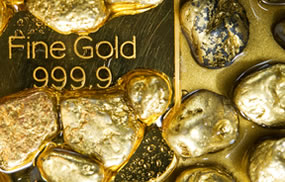 999.9 Fine Gold and Small Nuggets