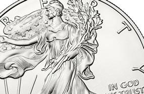 American Eagle bullion coin, obverse