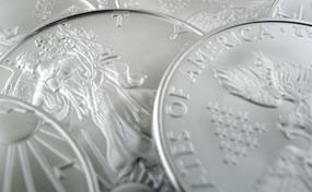 Bullion American Silver Eagle Coins