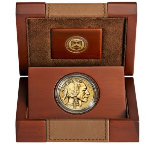 Case and 2013 Reverse Proof Gold Buffalo