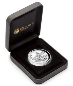 Case for 2013 Australian Kangaroo High Relief Silver Proof Coin