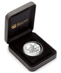 Case for 2013 Australian Kangaroo High Relief Silver Proof Coin