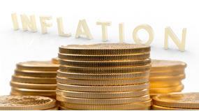 Gold coins and inflation