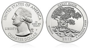 Great Basin National Park Five Ounce Silver Uncirculated Coin