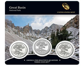 Great Basin Quarters Three-Coin Sets