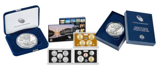 2013 American Silver Eagles and 2013 Silver Proof Set