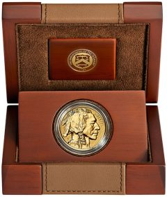2013 Reverse Proof American Buffalo Gold Coin in Case