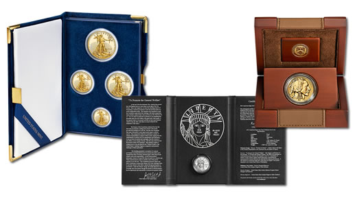 2013 US Mint Platinum and Gold Coins