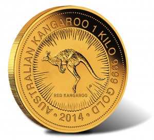 2014 Australian Kangaroo One Kilo Gold Bullion Coin