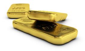 3 gold bars