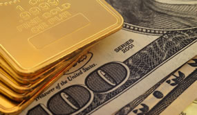 .9999 Fine Gold and $100s