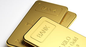 Bullion, gold bars