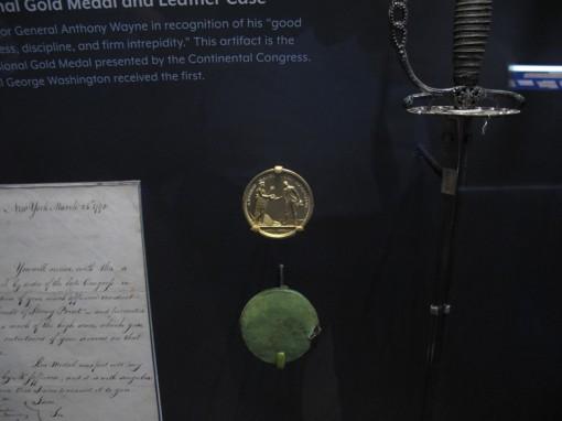General Anthony Wayne Gold Medal