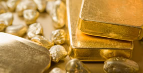 Gold and gold nuggets