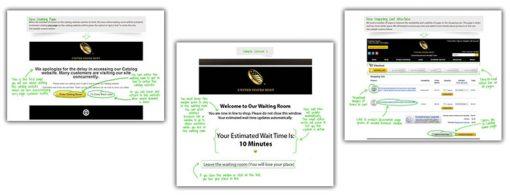 Screenshots of New US Mint Website Enhancements