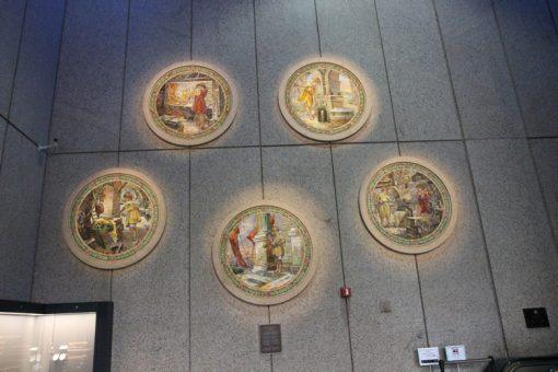 The Mint's Historic Tiffany Glass Mosaics