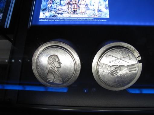 Thomas Jefferson Indian Peace Medal Dies
