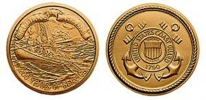 US Coast Guard Bicentennial Bronze Medal