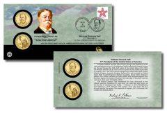 William Howard Taft Presidential $1 Coin Cover