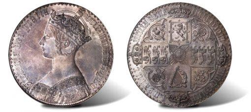 1847 Gothic Crown