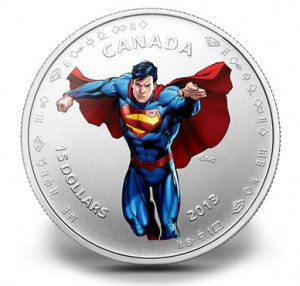 2013 $15 Modern Day Superman Silver Coin