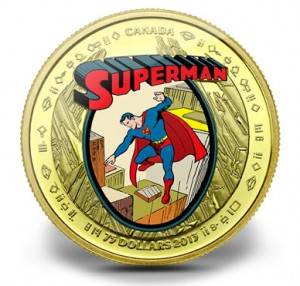 2013 $75 The Early Years Superman Gold Coin