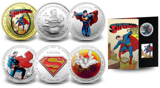 2013 75th Anniversary of Superman Commemorate Coins