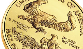 $25 American Gold Eagle bullion coin