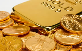 Gold Slides 1.8% on Week; US Mint Coin Sales Mixed